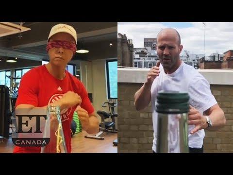 Celebs Do The 'Bottle Cap Challenge' Mp3