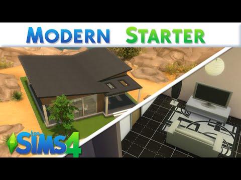 Starter moderna los sims 4 asurekazani for Casa moderna lyna