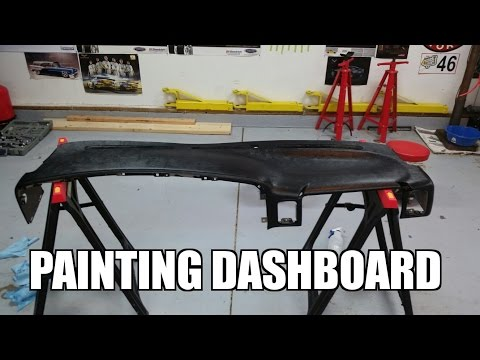 2005 GMC Sierra 2500HD - Painting Your Dashboard