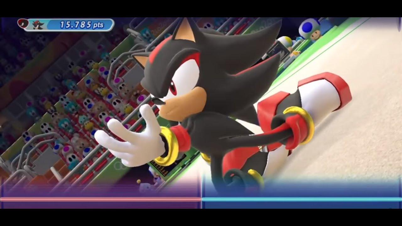 Shadow the Hedgehog Dancing (Rhythmic Gymnastics)