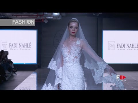 FADI NAHLE 2017 Kuwait fashion week in partnership with Oriental fashion show - Fashion Channel