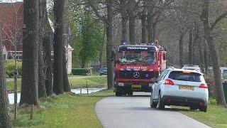25-04-17 P1 4X Brandweer naar een Grote brand in Lippenhuizen!