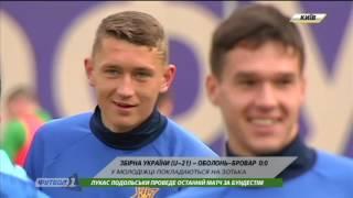 Футбол NEWS от 22.03.2017 (10:00) | Тренировочный процесс сборной Украины