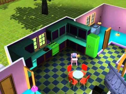 Casa simpsons los sims 3 youtube for Articoli x la casa online