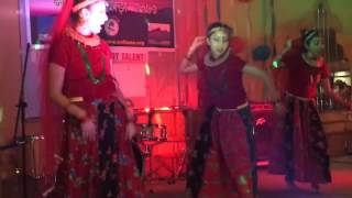 Nepali Maruni dance by Axata, Astha and Kristina