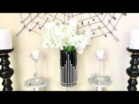 Easy And Cheap Diy Decor Vase 2 With Dollar Store Items Youtube