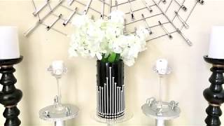 Easy And Cheap DIY Decor Vase $2!!! with Dollar Store Items.