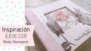 ÁlbumScrap boda stamperia y dcwv