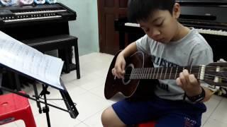 Học đệm Guitar bài MỘT NHÀ Trung tam nhac Thánh Tâm dạy guitar