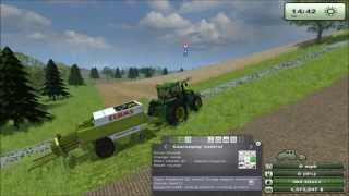 Farming simulator 2013 courseplay guide Ballepresning (DANSK)