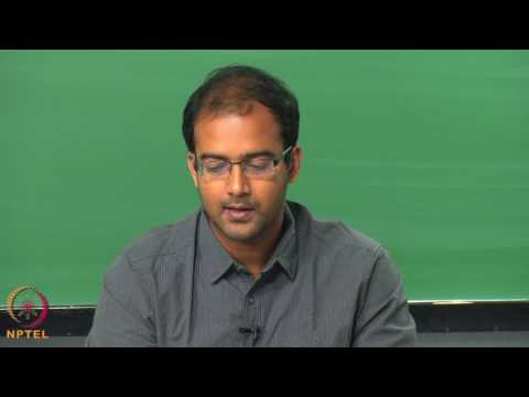 Micro and Nano scale  energy transport-Week06lec03