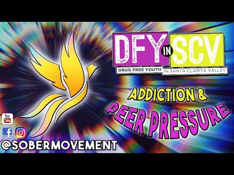 @SoberMovement Presents to Drug Free Youth of SCV