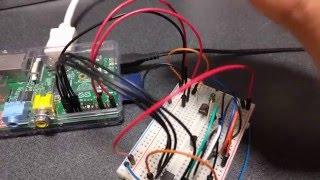 Raspberry PiでADコンバーターを使ってアナログ入力を受け付けました