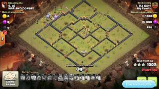 TH 11 TH 12 war attack . Big Family vs WAR AND DONATE