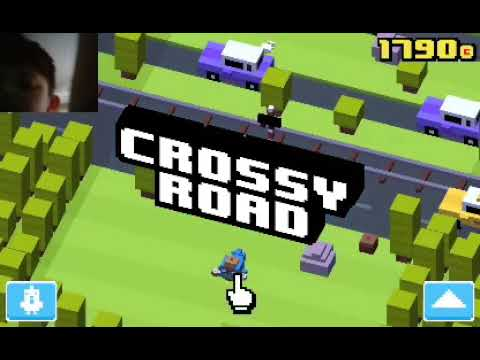 Crossy Road part 11 , 1800 coins!!!!!!!