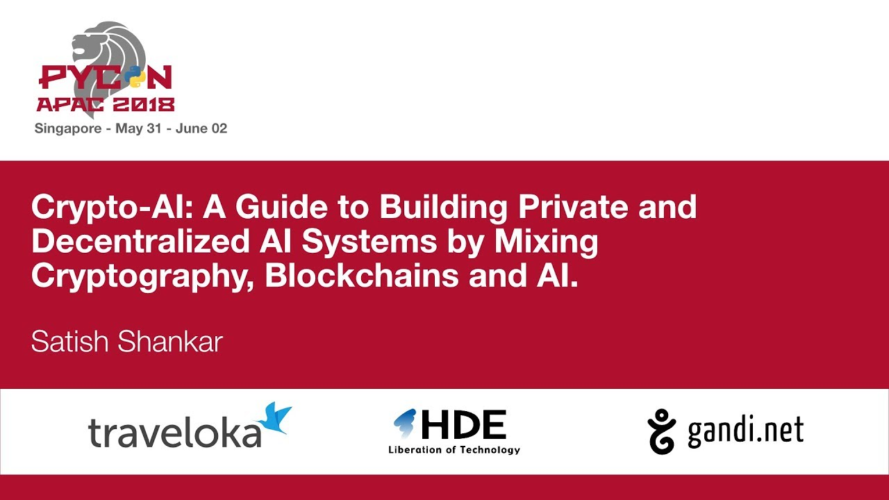 Image from Crypto-AI: A Guide to Building Private and Decentralized AI Systems by Mixing Cryptography, Blockchains and AI.