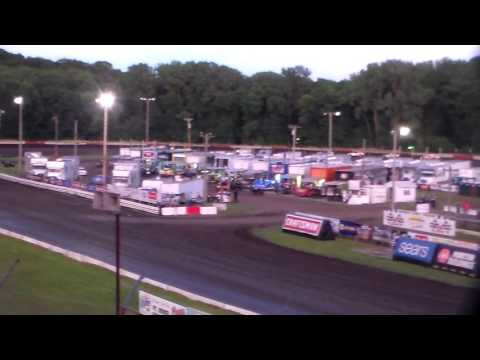Stock Car Heat 2 @ Hamilton County Speedway 07/07/16