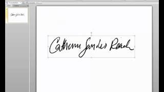 ... Adobe Acrobat X için Şeffaf bir İmza Damga Oluşturma