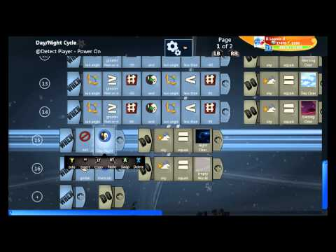 Day, Night, and Weather in Project Spark