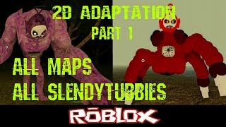 Slendytubbies ROBLOX 2D Adaptation Part 1 By NotScaw [Roblox]