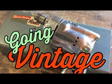 Restoring a Vintage Black & Decker Drill