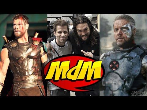 As fotos do Thor, os filmes +18 da DC, X-Force e ZACK SNYDER!