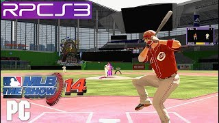 PS3 Emu | MLB 14 The Show on PC HD (gameplay) RPCS3 i7 4790k TSX