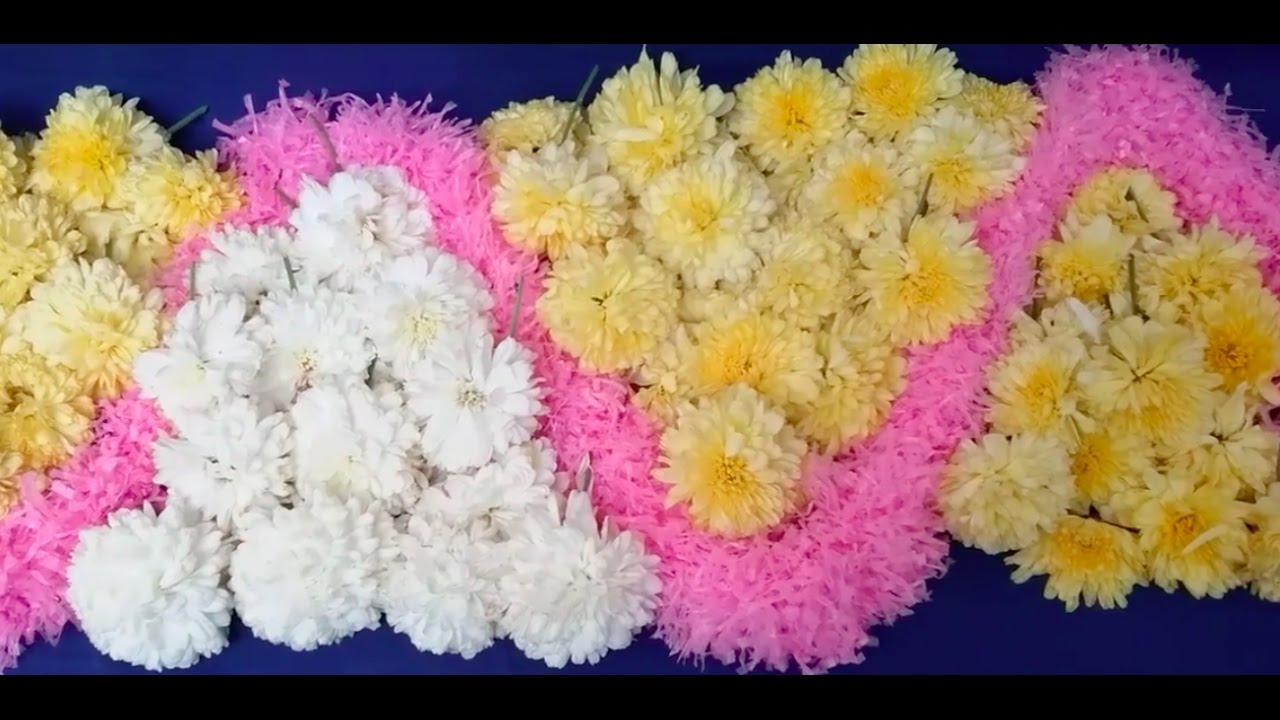 How To Decorate Pooja Room With Flowers L Ganesh Chaturdhi Special Decoration Ideas Festival Season