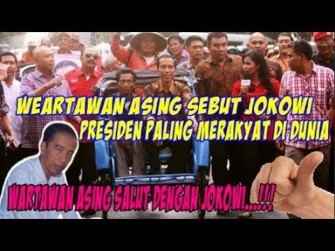 Wartawan Asing Peliput KTT ASEAN AS Sebut Jokowi Presiden Merakyat