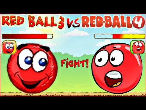 Битва ШАРИКОВ ! Прохождение Красный Шарик ! Веселая Red Ball 3 ! Игра развивающая для детей !