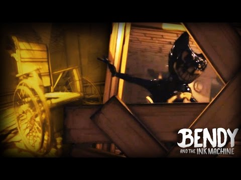 THIS WASN'T HERE BEFORE!? || Bendy And The Ink Machine (Chapter 1 UPDATE)