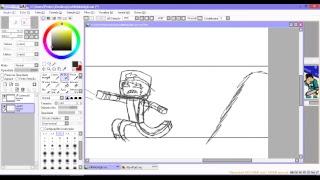 Die Karikatur, Um die LIVE #04, TEIL 1 (LIVE-ZEICHNUNG), UND zu REAGIEREN, um eine SACHE