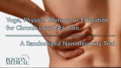 Yoga, Physical Therapy, or Education for Chronic Low Back Pain