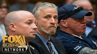 Jon Stewart slams Congress members for skipping 9/11 fund hearing