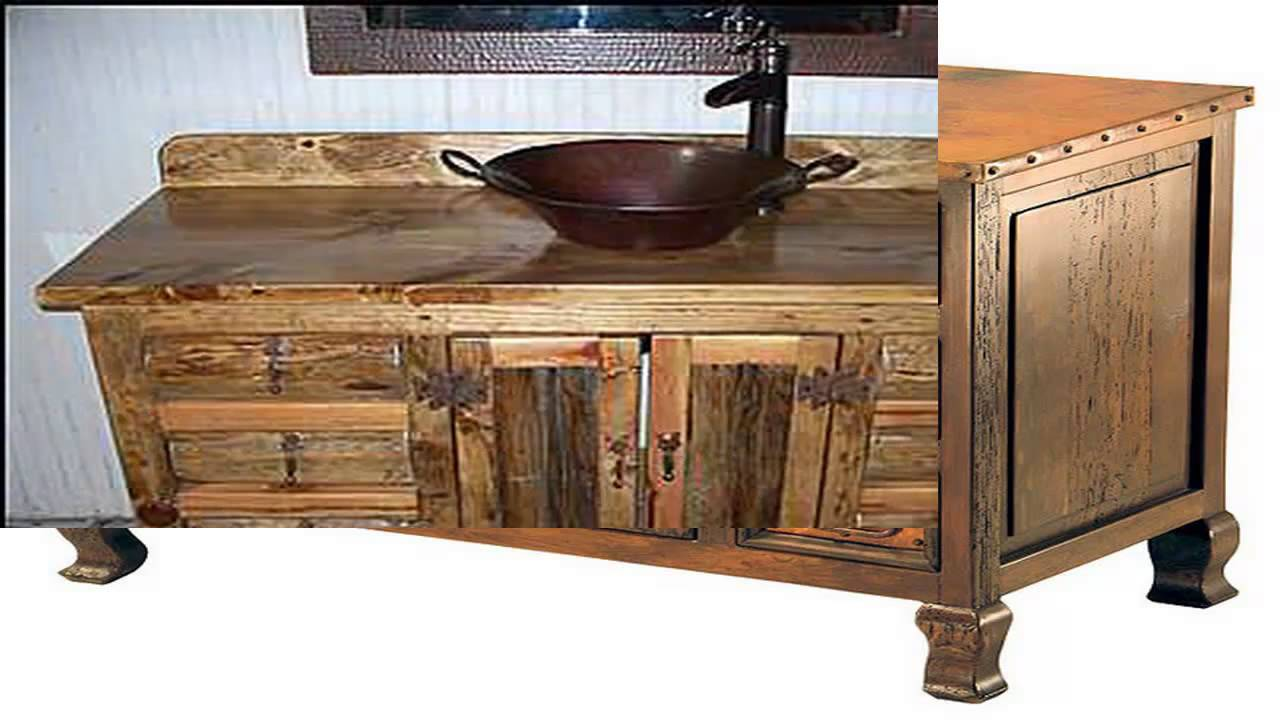 rustic vanity cabinets for bathrooms top rustic bathroom vanities ideas you never imagine 25774