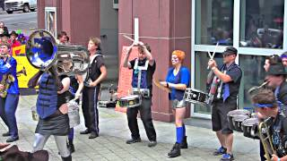 HonkFest West 2013: Chaotic Noise Marching Corps @ Seattle Art Museum