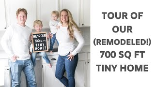 Tour Of Our 700 Square Foot Tiny House