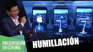 Huawei Mate 10 humilla a Samsung y Apple durante su presentación