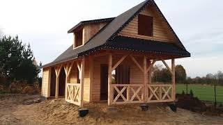 Katalog GLINBUD domy domki letniskowe i całoroczne z drewna drewniane