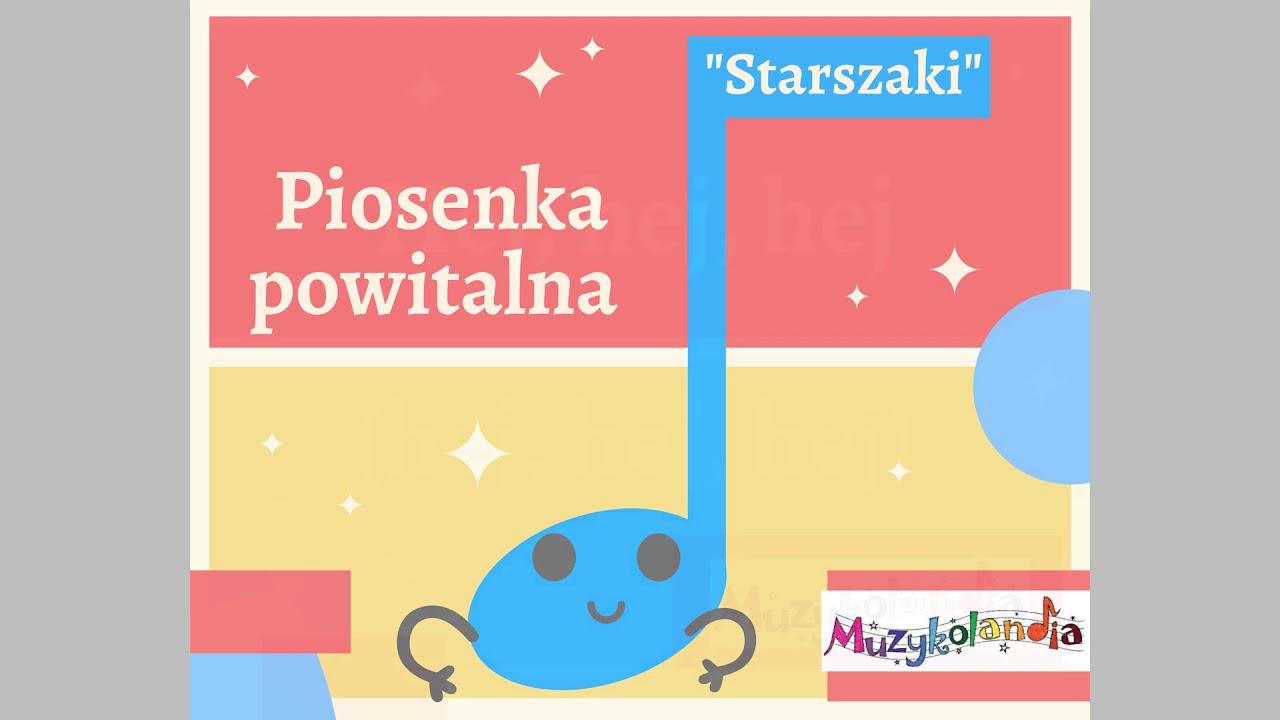 """Download Piosenka powitalna  """"Hej, hej - śmiej się, śmiej!"""" (Starszaki), sł. i muz. A.Szymanowska"""