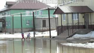 Вода, кругом вода... Или Ахтубинск после зимы