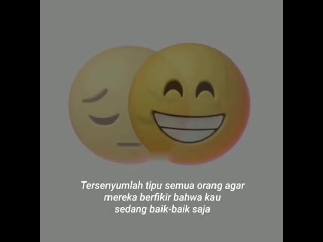 Status Wa Terbaru Senyum Palsu Youtube