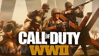 CALL OF DUTY: WWII LEAK! NEW WORLD WAR 2 GAME (COD 2017)