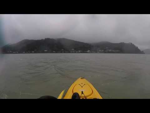 Kayak Fishing Tillamook Bay 03-18-2017