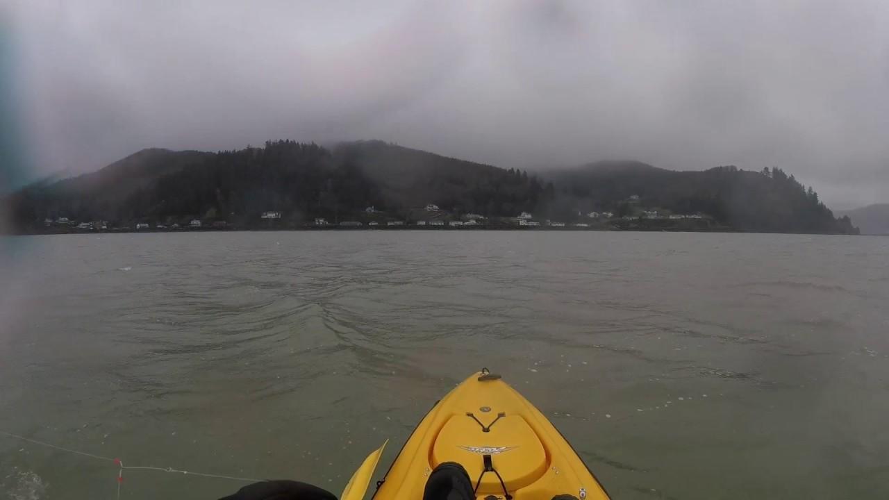 Kayak fishing tillamook bay 03 18 2017 youtube for Tillamook bay fishing