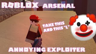 Roblox Arsenal Annoying Exploiters (Teleporter)