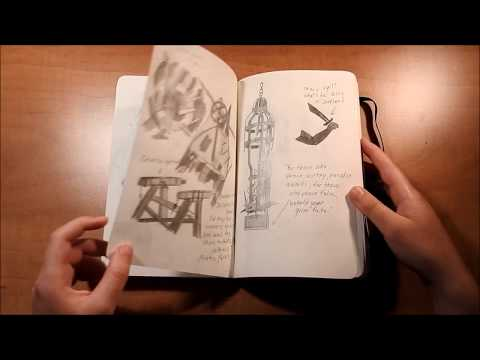 Uncharted 4 / Nate's journal (homemade)