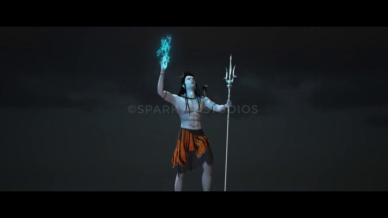 Lord Shiva | 3D Model and Rendering | Spark Vfx Studios