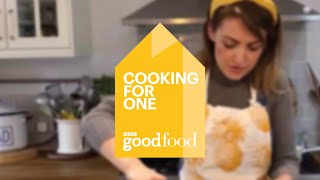Cooking for one - Easy seafood chowder recipe - BBC Good Food
