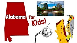 Alabama for Kids | US States Learning Video